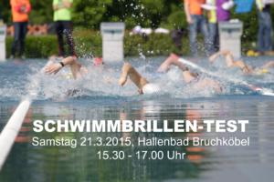 Schwimmbrillen-Test 21.3.2015