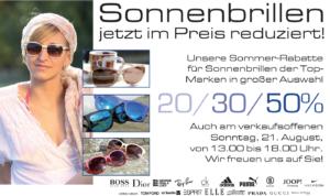 Sonnenbrillen-Altstadtfest